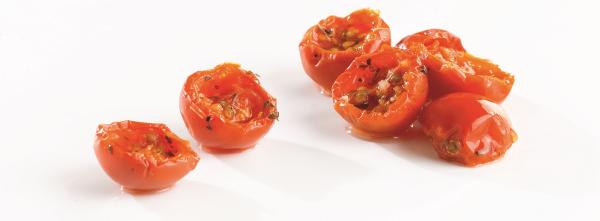 tomates cerises semi sechees