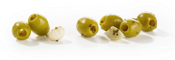 product-olijven-knoflook olijven Gran'Oliva