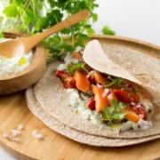 Tasty Tzatziki Tortilla