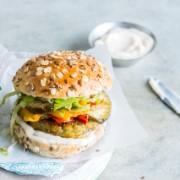 Burger aïoli