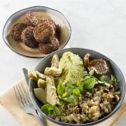couscous falafel